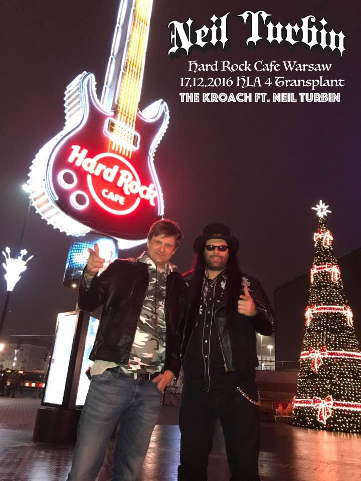 HLA 4Transplant Hard Rock Cafe Warsaw w/ The Kroach ft. Neil Turbin